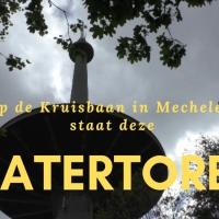 Onder de schotel van de Watertoren in Mechelen