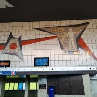 Afscheid van het station van Mechelen