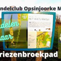 Met wandelclub Opsinjoorke Mechelen wandelen naar Het Vriezenbroekpad