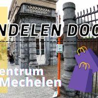 Wandelen door het centrum van Mechelen