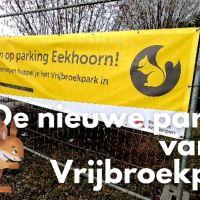Nieuwe parking van het Vrijbroekpark in Mechelen